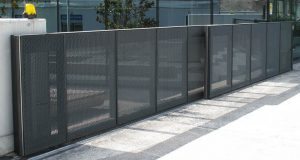 Secure fence and access gate located in Ypsi for commercial and business property